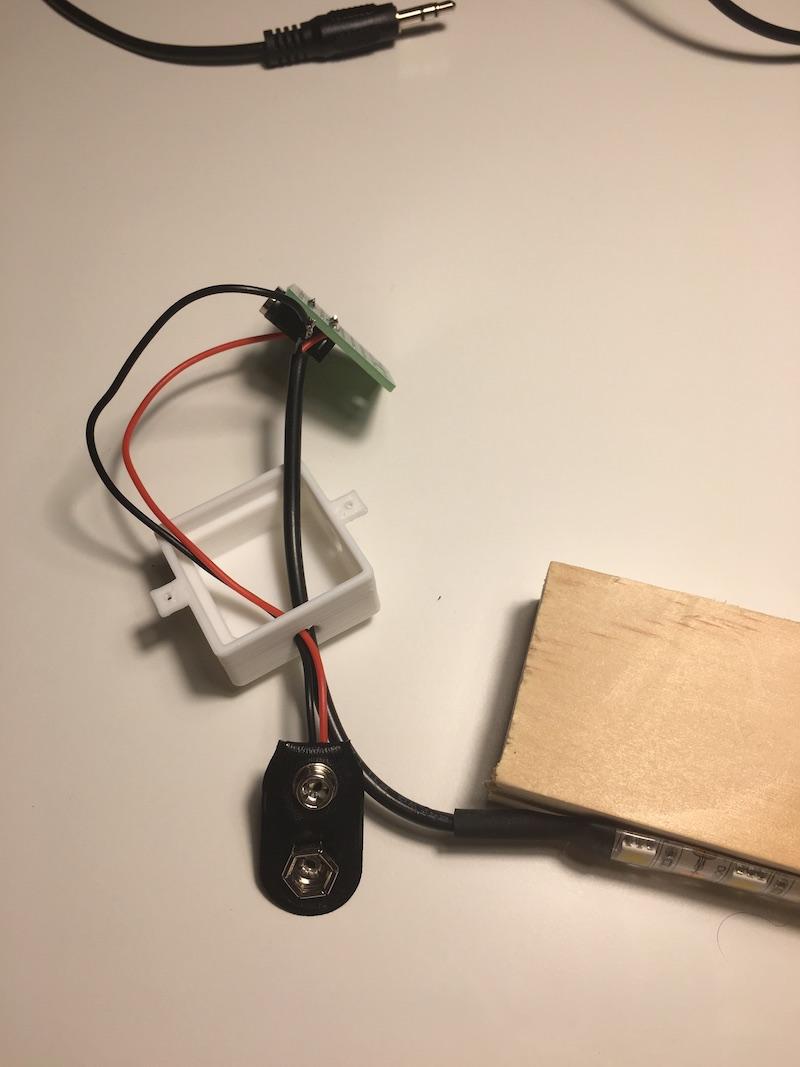 circuit soldered